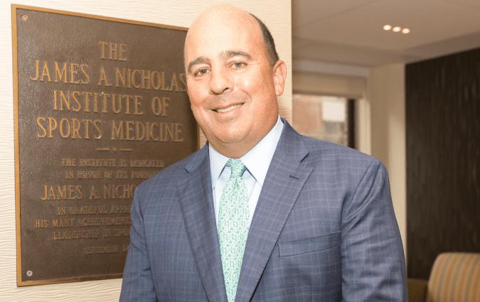 the James A Nicholas Institute of Sports Medicine