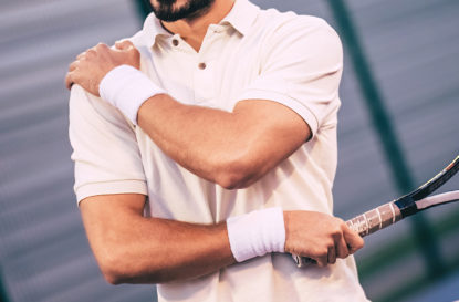 3 Common Shoulder Injuries In Tennis & How We Can Help - Blog Post